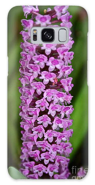 Purple Pillar Galaxy Case