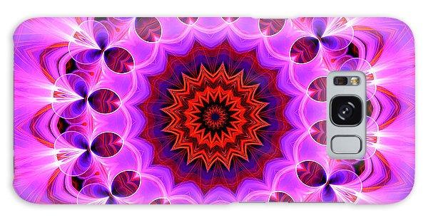 Purple, Pink And Orange Kaleidoscope Galaxy Case