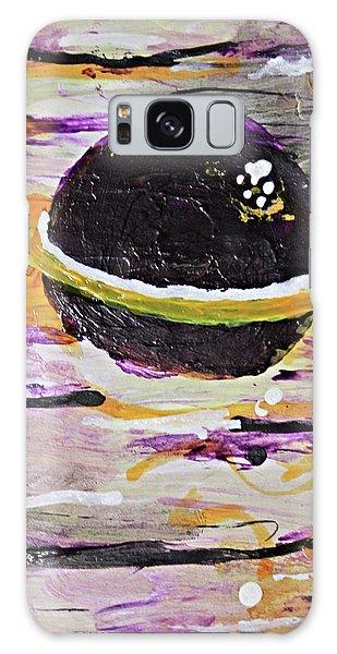 Purple Planet Galaxy Case