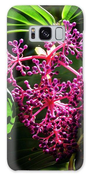 Purple Plant Galaxy Case