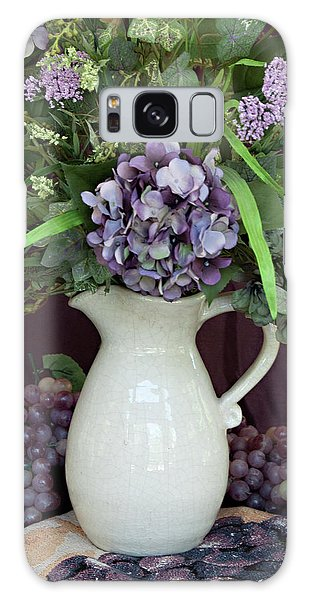 Purple Pleasures Galaxy Case by Sherry Hallemeier