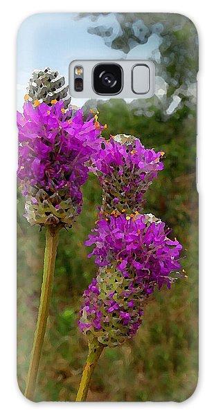 Purple Prairie Clover Galaxy Case
