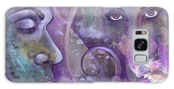 Musical Galaxy Case - Purple Rain by Shadia Derbyshire