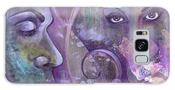 Symbolism Galaxy Case - Purple Rain by Shadia Derbyshire