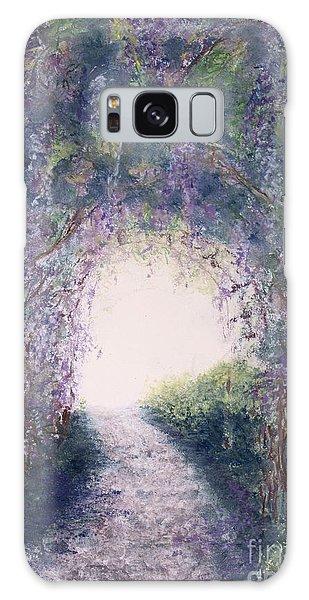 Purple Rain Galaxy Case by Stanza Widen