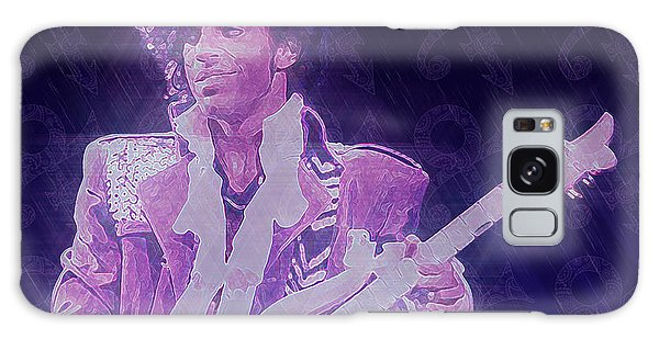 Purple Reign Galaxy Case by Kenneth Armand Johnson