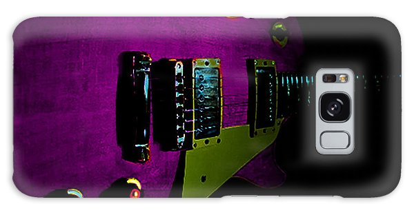 Purple Relic Les Paul II Hover Series Galaxy Case
