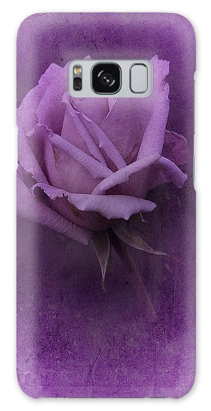 Purple Rose Of November No. 2 Galaxy Case by Richard Cummings