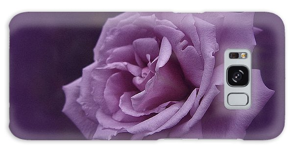 Purple Rose Of November Galaxy Case
