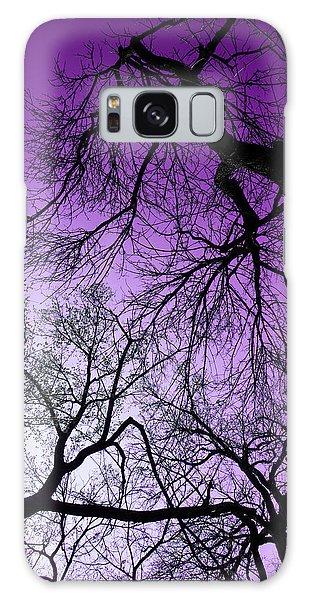 Purple Sky Galaxy Case by Josy Cue