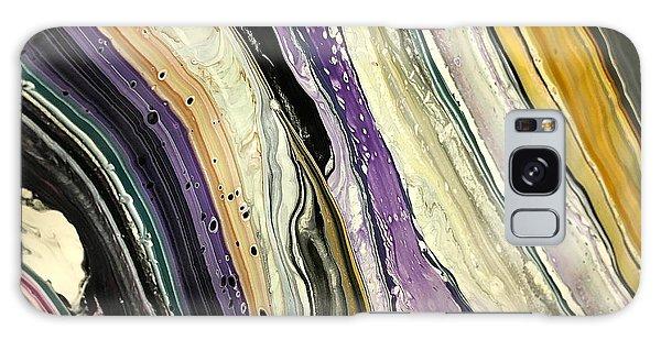 Purple Slate Galaxy Case