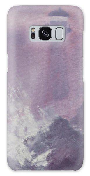 Purple Storm Galaxy Case