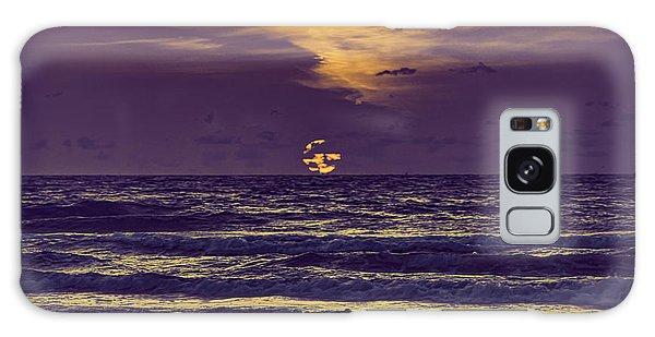 Purple Sunrise Galaxy Case