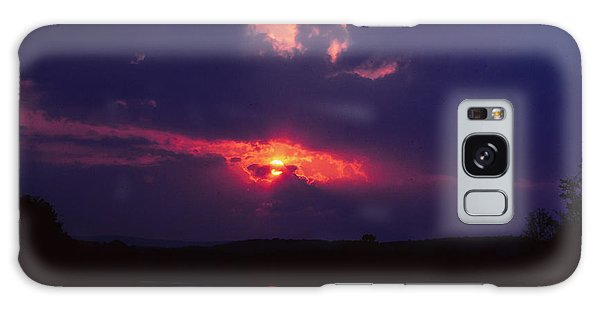 Purple Sunset Galaxy Case