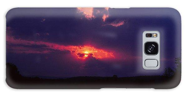 Purple Sunset Galaxy Case