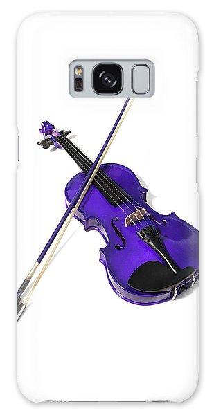 Purple Violin Galaxy Case