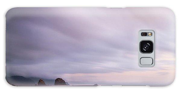 Purple Wisp In The Morning Galaxy Case