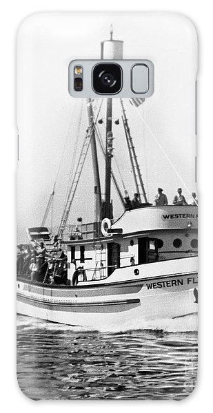 Purse Seiner Western Flyer On Her Sea Trials Washington 1937 Galaxy Case