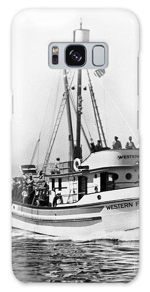 Purse Seiner Western Flyer On Her Sea Trials Washington 1937 Galaxy Case