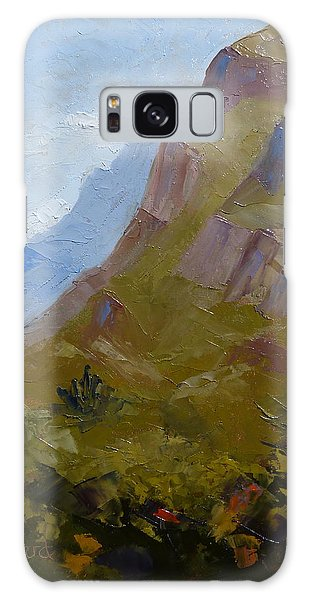 Pusch Ridge I Galaxy Case by Susan Woodward