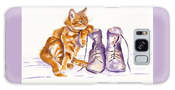 Cat Galaxy S8 Case - Puss 'n Boots by Debra Hall