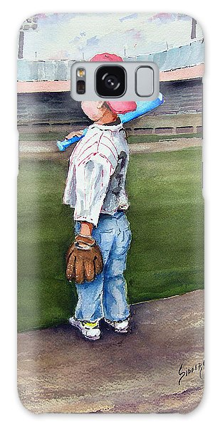 Baseball Bats Galaxy S8 Case - Put Me In Coach  by Sam Sidders