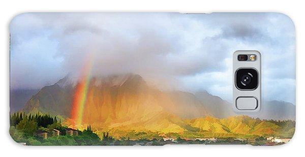 Puu Alii With Rainbow Galaxy Case