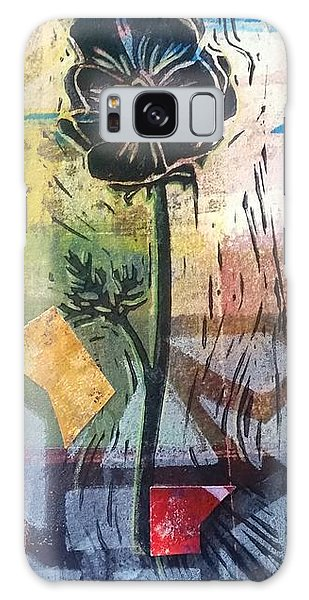 Puzzled Floral Galaxy Case by Cynthia Lagoudakis