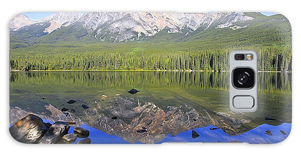 Pyramid Lake Reflection Galaxy Case