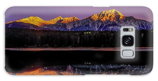 Galaxy Case featuring the photograph Pyramid Mountain 2006 01 by Jim Dollar