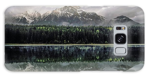 Galaxy Case featuring the photograph Pyramid Mountain 2006 02 by Jim Dollar