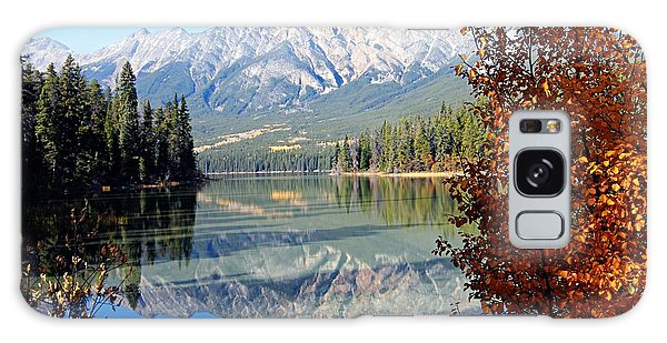Pyramid Mountain Reflection 3 Galaxy Case by Larry Ricker