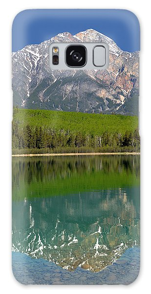 Pyramid Mountain Reflection Galaxy Case