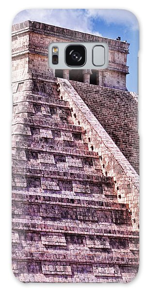 Pyramid Of Kukulcan At Chichen Itza Galaxy Case