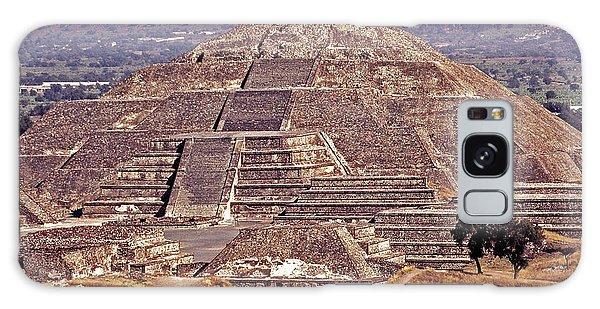 Pyramid Of The Sun - Teotihuacan Galaxy Case