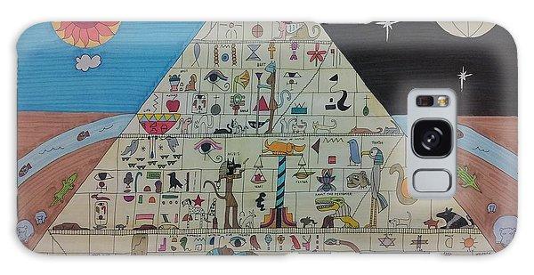 Basalt Galaxy Case - Pyramid by William Douglas