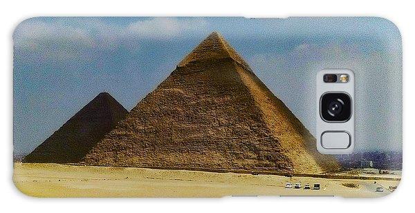 Pyramids, Cairo, Egypt Galaxy Case