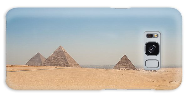 Galaxy Case - Pyramids Of Giza And The Desert by Iordanis Pallikaras