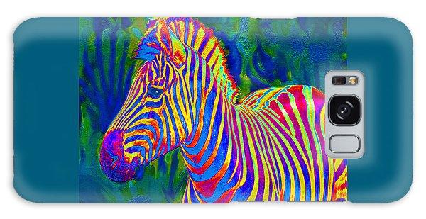 Pyschedelic Zebra Galaxy Case