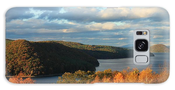Quabbin Reservoir Foliage View Galaxy Case by John Burk