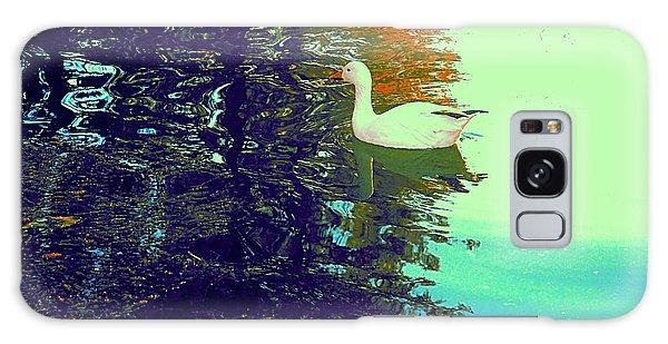 Quack Galaxy Case by Nancy Kane Chapman