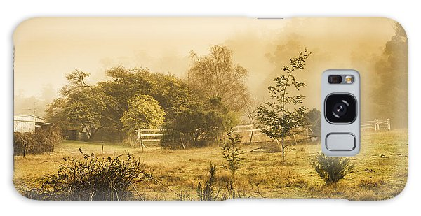 English Countryside Galaxy Case - Quaint Countryside Scene Of Glen Huon by Jorgo Photography - Wall Art Gallery