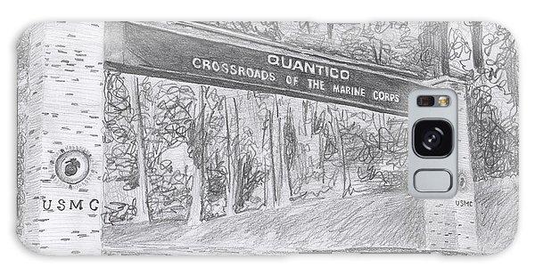 Quantico Welcome Graphite Galaxy Case