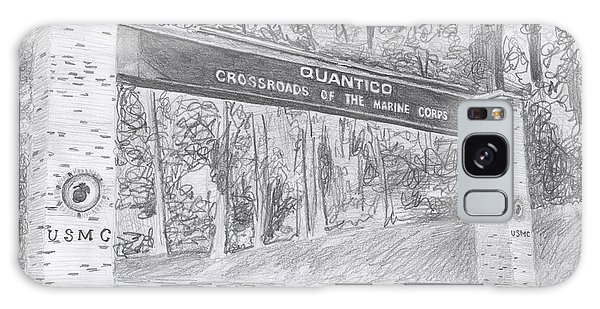 Quantico Welcome Graphite Galaxy Case