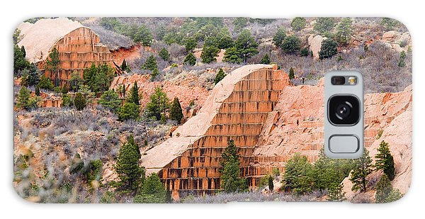 Quarry At Red Rock Canyon Colorado Springs Galaxy Case