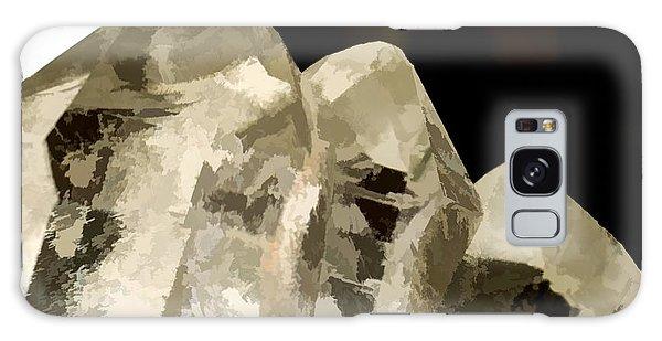 Quartz Crystal Cluster Galaxy Case