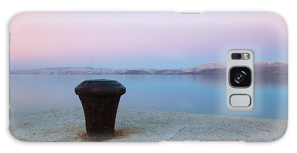 Galaxy Case featuring the photograph Quay In Dawn by Davor Zerjav