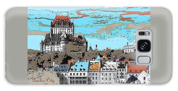 Quebec City Canada Poster Galaxy Case