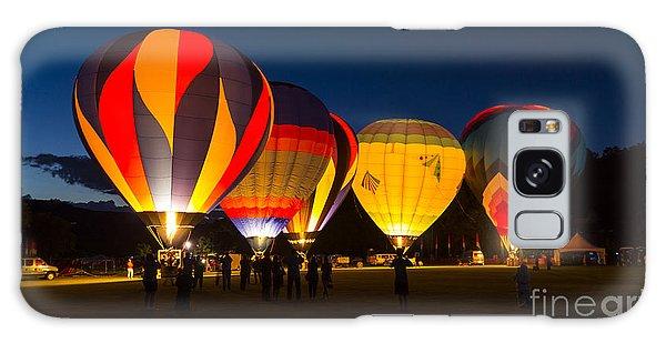 Quechee Balloon Festivial Galaxy Case