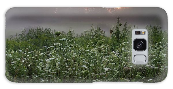 Sunrise Galaxy Case - Queen Ann Sunrise Square by Bill Wakeley